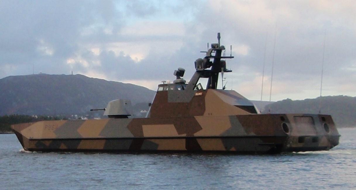 Hvordan støydempe lette marinefartøy?