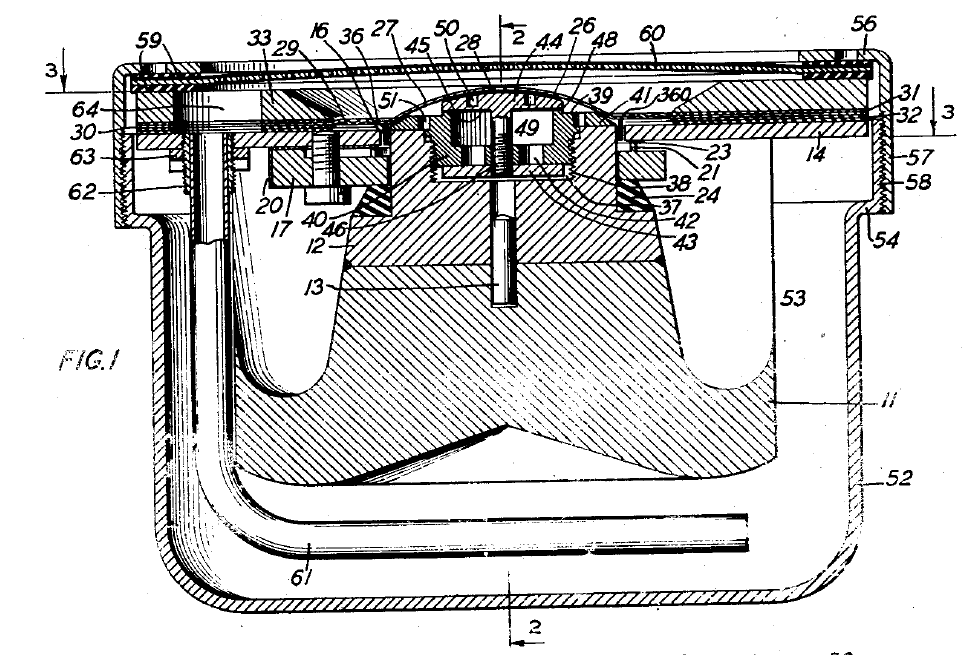 Wente and Thuras' moving coil transmitter