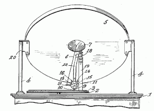 Button's finite baffle gramophone