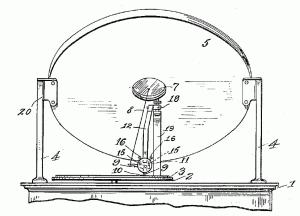 Button's finite baffle gramophone