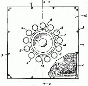 Thuras' bass-reflex loudspeaker
