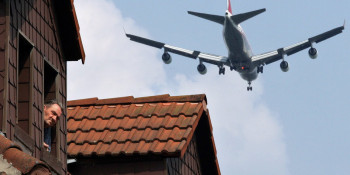 Tolerance for aircraft noise remains unchanged