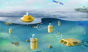 Underwater acoustic network