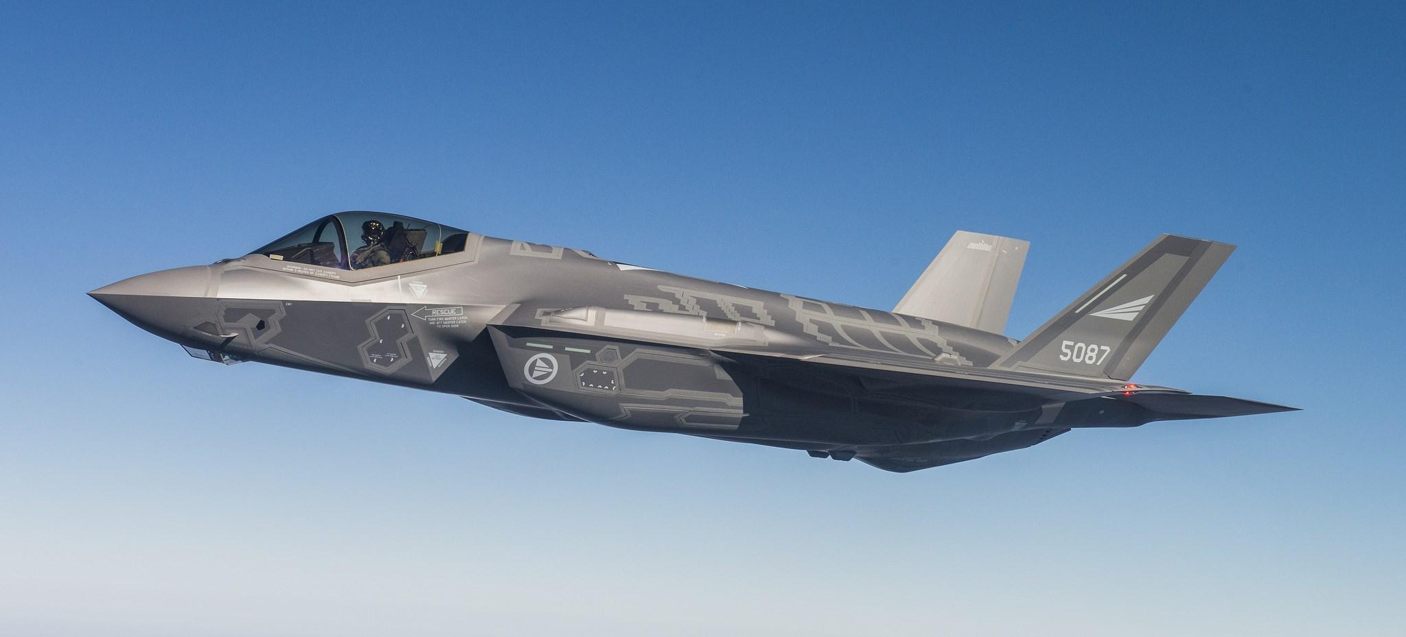 Vi har gjort de første støymålingene på F-35 i Norge